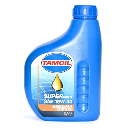 Tamoil - Aceite lubricante Super Multi SAE 15 W-40 para motores de ...