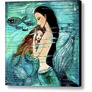61Nfrsn9paL._SS300_ Mermaid Wall Art and Mermaid Wall Decor