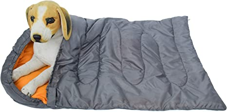 Outdoor Lightweight Waterproof Pet Sleeping Bag Dog Bed for Camping Hiking