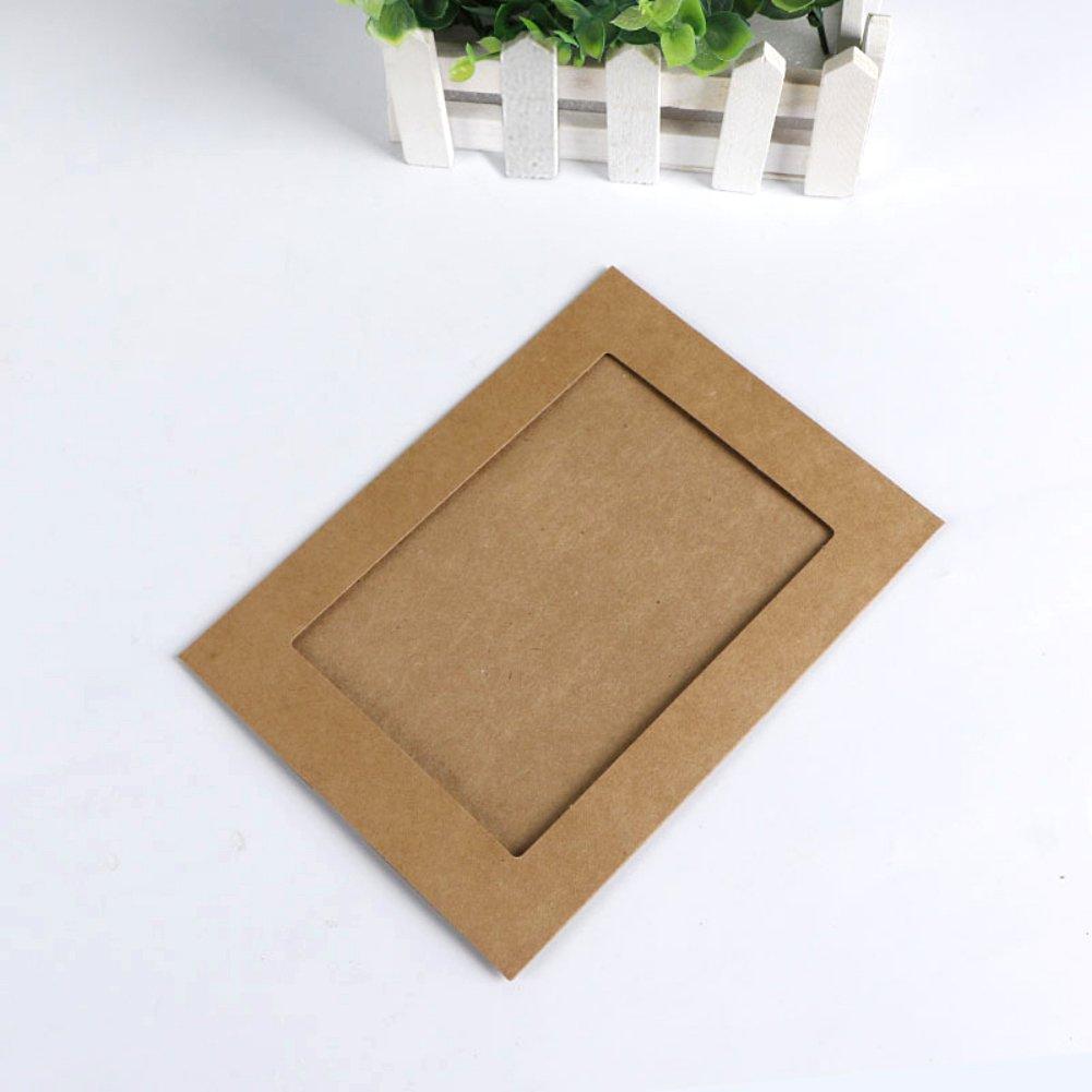 Kayi DIY Papier Bilderrahmen Rahmen Pappe Bilderrahmen hängende ...