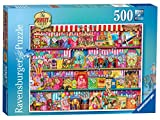 Jigsaw - The Sweet Shop 500 Piece - RB14653 - Ravensburger.