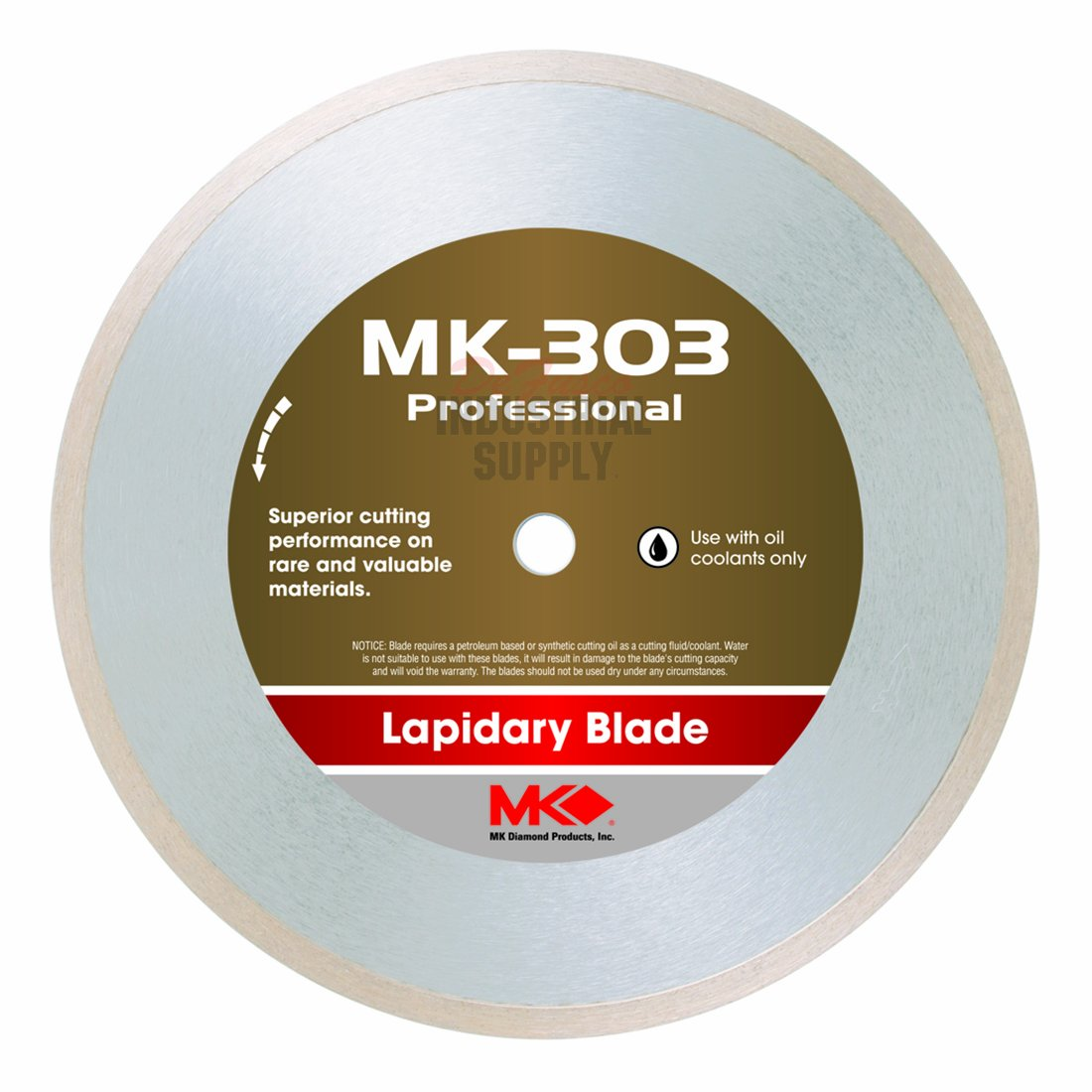 MK Diamond 156723 MK-303 Professional 8-Inch Diameter Lapidary Blade by .060-Inch wide by 5/8-Inch Arbor