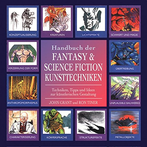 Handbuch der Fantasy und Science Fiction Kunsttechniken