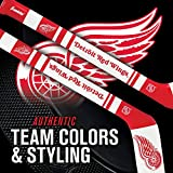 Franklin Sports NHL Detroit Red Wings NHL Mini Soft Hockey Stick Set - NHL Team Soft Foam Mini Hockey Stick and Ball Set - Great Toy for Kids
