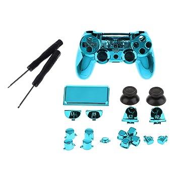 F Fityle Estuche de Cubierta Kit de Carcasa para Sony PS4 ...