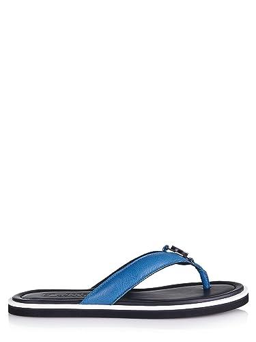 d9dbca4b36ef Versace Shoe (M-03-Sc-45214) - 12(UK) 46(IT) 46(EU) - Blue  Amazon ...