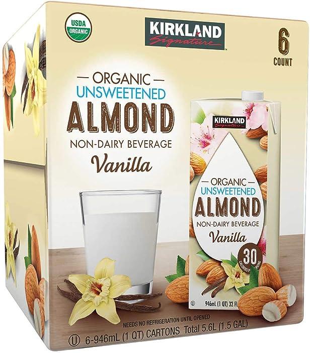 Top 8 Kirkland Signature Organic Almond Beverage 6Ct 32Oz