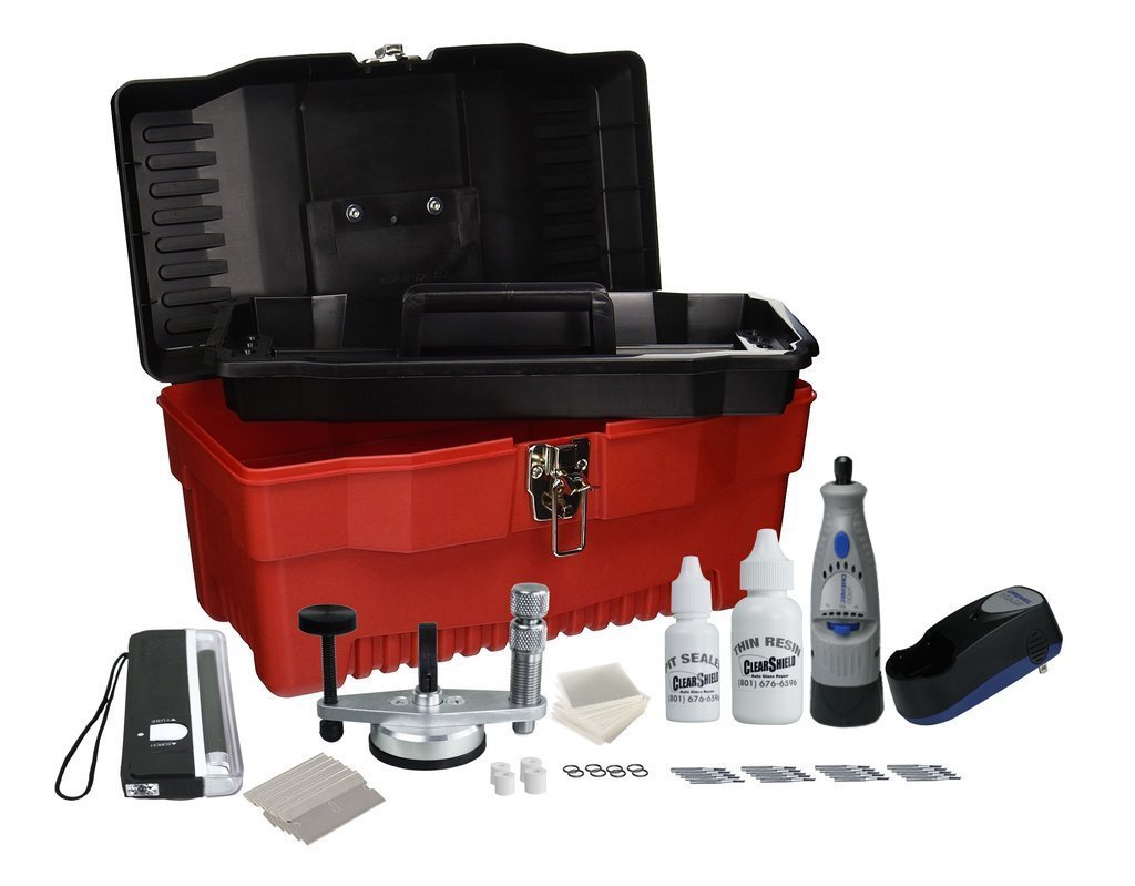 Professional Windshield Repair Kit: Performs Over 200 Rock Chip Repairs