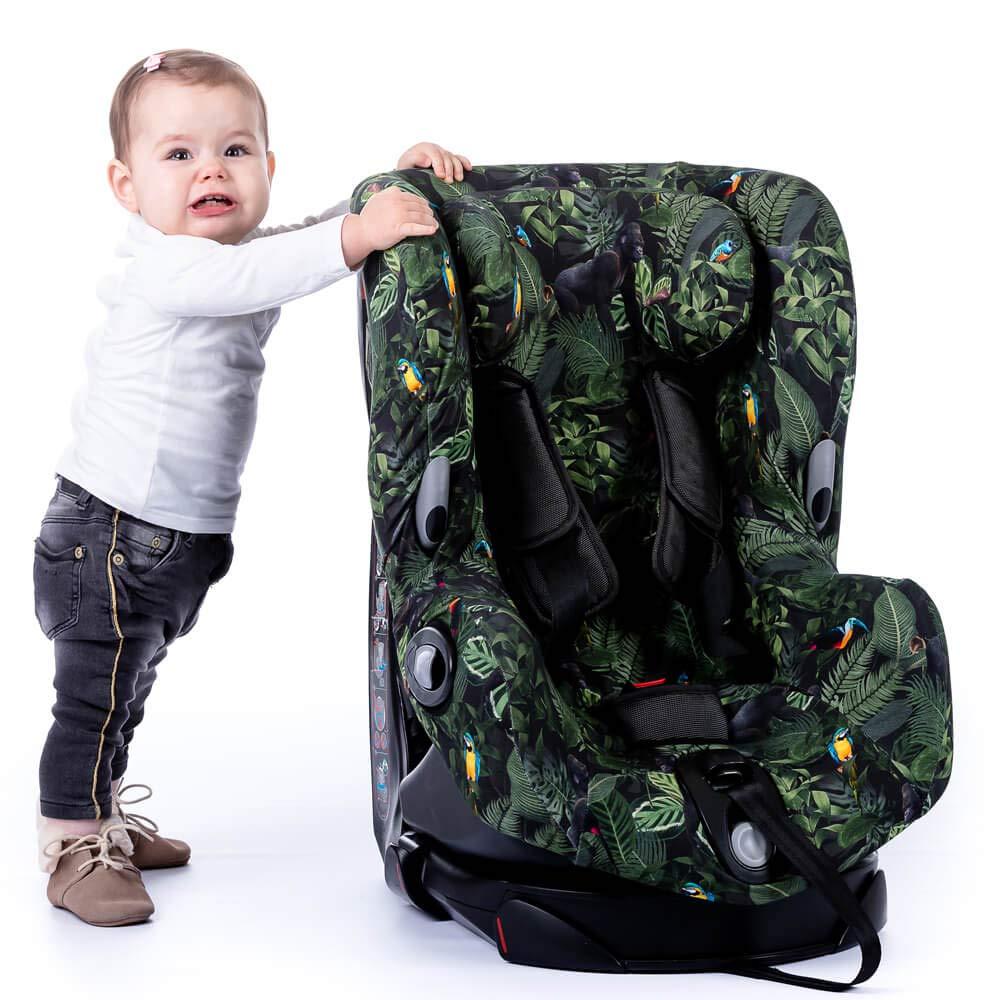 Bezug Maxi-Cosi Titan Kindersitz Khaki Einfarbig Schwei/ßabsorbierend und weich f/ür Ihr Kind Sch/ützt vor Verschlei/ß und Abnutzung /Öko-Tex 100 Baumwolle