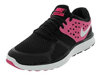 Image Unavailable. Image not available for. Color  Nike Women s LUNARSWIFT+  3 WMNS Running Shoes 6.5 (Black Metallic ... 4c0518cbc