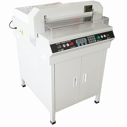 orangea eléctrico pila cortador de papel guillotina cortador ...