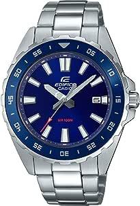 Casio EFV-130D - Reloj analógico de Cuarzo para Hombre con Correa de Acero Inoxidable