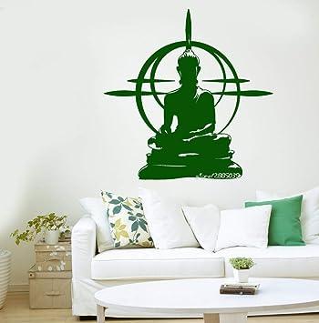 XCGZ Pegatinas de pared Buda De Vinilo Pegatinas De Pared ...