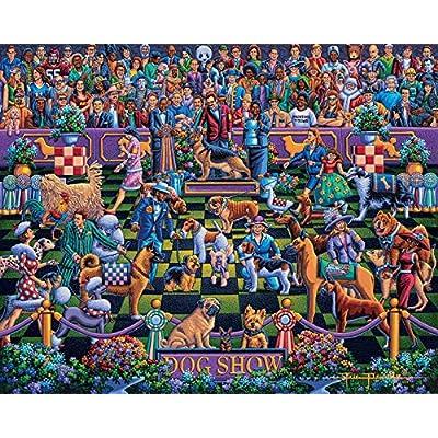 Dowdle Jigsaw Puzzle - Dog Show - 100 Piece: Toys & Games