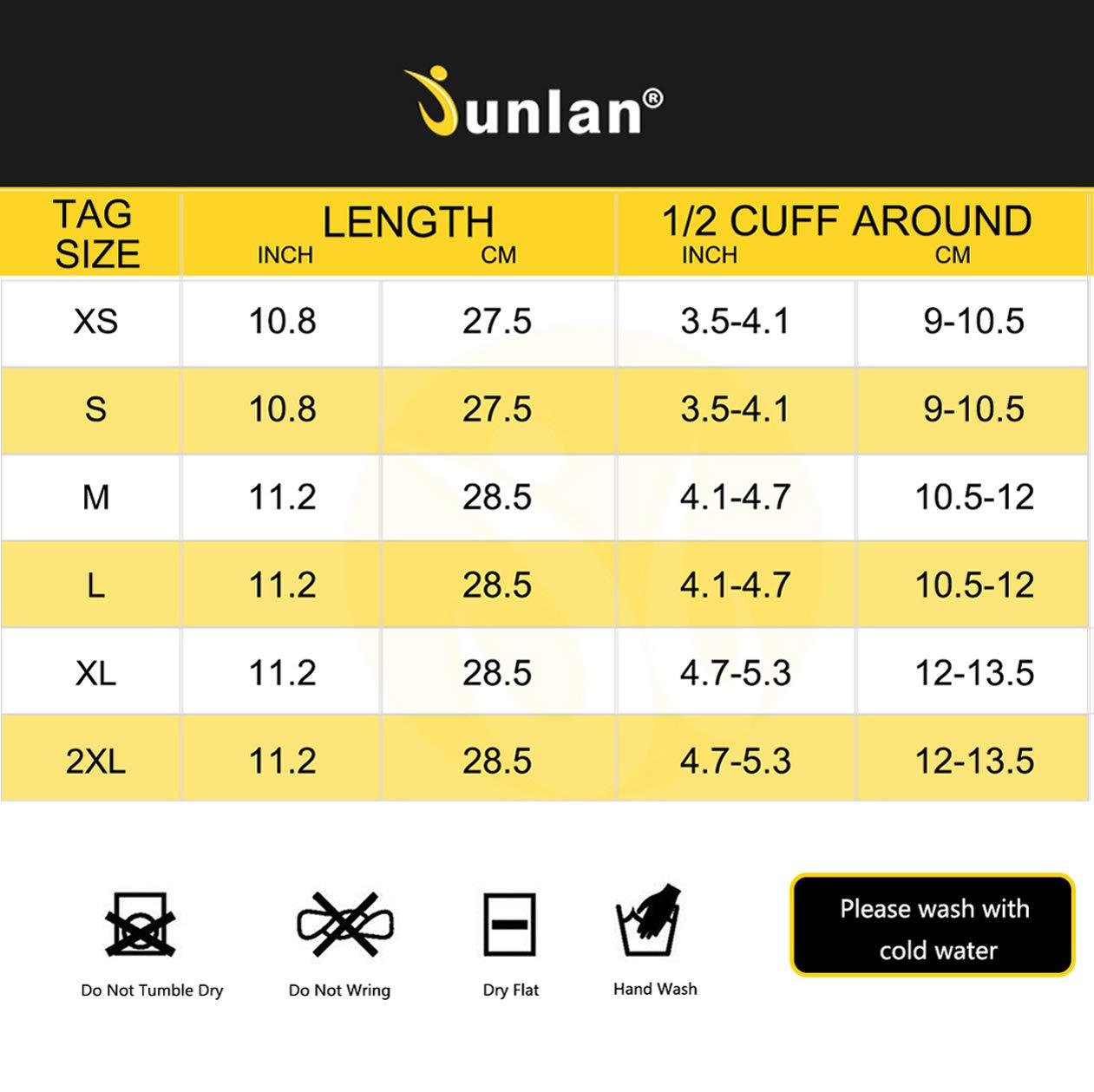 Junlan Neoprene Diving Gloves, Wetsuits Glove for Snorkeling, Kayaking, Water Jet Skiing, Sailing, Scuba Diving, Rafting (Black, XL/2XL) by Junlan