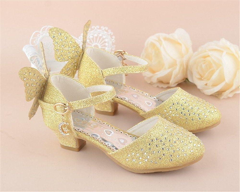 unyielding1 2018 New Girls Princess Shoes Fashion Diamond Bow Student Table Baotou Dance Shoes