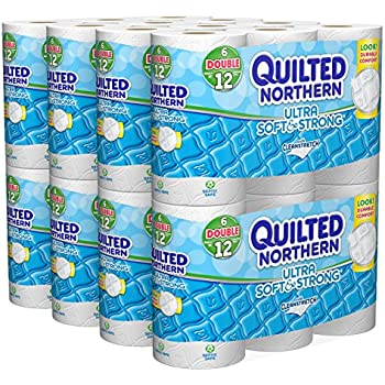 Amazon Quilted Northern Ultra Soft And Strong Bath Tissue 48