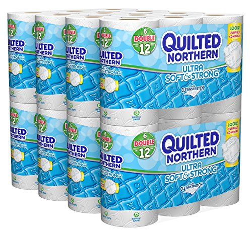 Quilted Northern Ultra Soft and Strong Bath Tissue, 48 Doubl