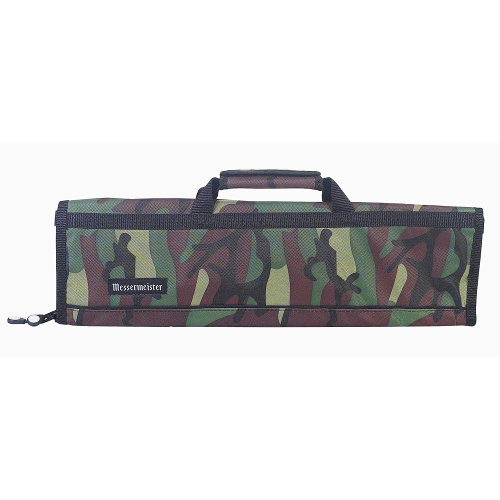 Messermeister 8 Pocket Knife Roll, Camouflage by Messermeister