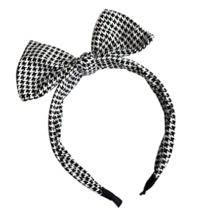 complet dans les spécifications acheter réel magasins populaires Hosaire Bandeau a cheveux Femme fille Papillon Noeud de treillis Serre-Tête  Mode accessoires cheveux pour Fête et Décoration Cheveux Bijoux