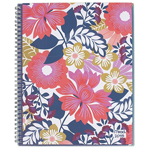 "Mead Weekly / Monthly Planner, January 2018 - December 2018, 8-1/2"" x 11"", Customizable, Fashion, Design Will Vary (CRW50810)"