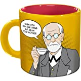Freudian Sips Coffee Mug - Undo Years Of Repression While You Drink Your Coffee - Comes in a Fun Gift Box