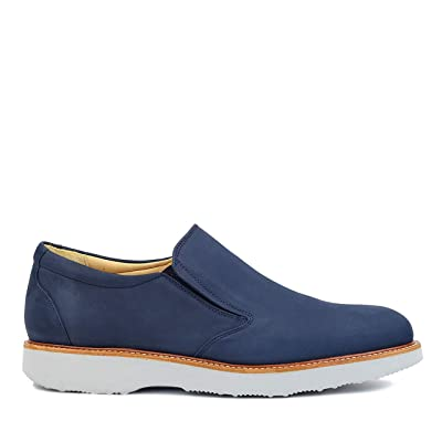 Samuel Hubbard Mens Frequent Traveller Slip-On | Oxfords