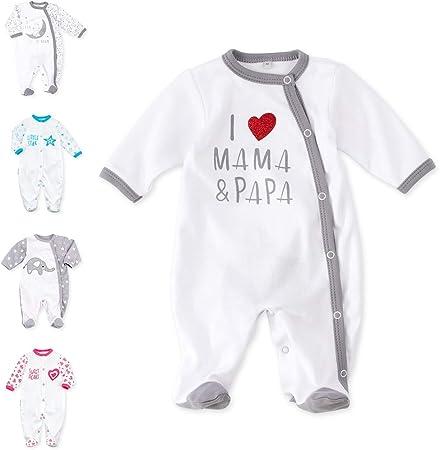 Baby Sweets - Pijama para bebé con diseño de corazón y texto