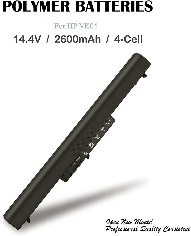 VK04 Laptop Notebook Battery for HP Pavilion Sleekbook 14-b000 15-b000,695192-001 694864-851 HSTNN-YB4D TPN-Q113 TPN-Q114 H4Q45AA