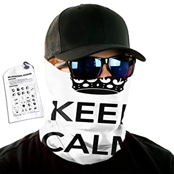 Amazon.com: Keep Calm Im Ninja Headband Head Warp Sport ...