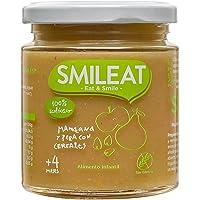 Smileat Tarrito de Manzana y Pera con Cereales Ecológico - 230 gr