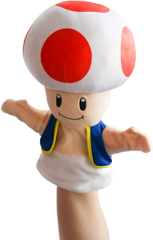Amazon Com Hashtag Collectibles Toad Puppet Super Mario Toys
