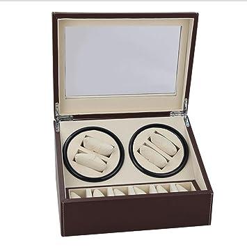 K-Y Cajas giratorias Caja para Relojes Reloj mecánico/Caja de Reloj automática/Producción Artesanal 6 + 4 Lugares: Amazon.es: Hogar