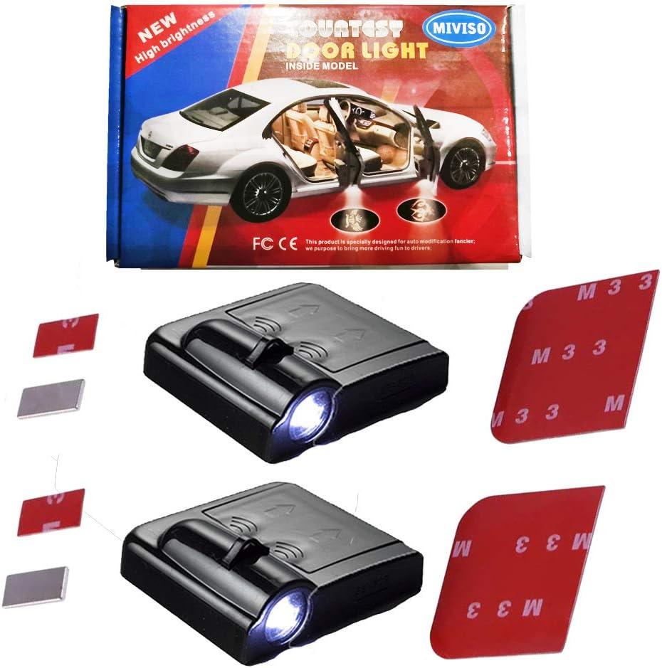 telles que Volks wagen BM W Au-d-i MIVISO Lumi/ères de projection de voiture la plupart des lumi/ères de projection de mod/èle de logo de voiture