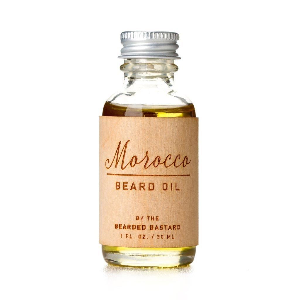 Morocco Beard Oil by The Bearded Bastard — Natural Beard Oil (1 oz)