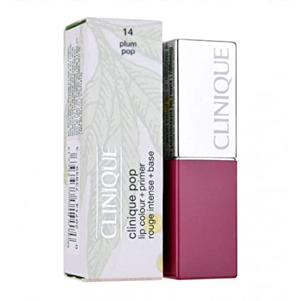Clinique – Color de labios y primer 14 PLUM Pop 2,3 G tamaño de