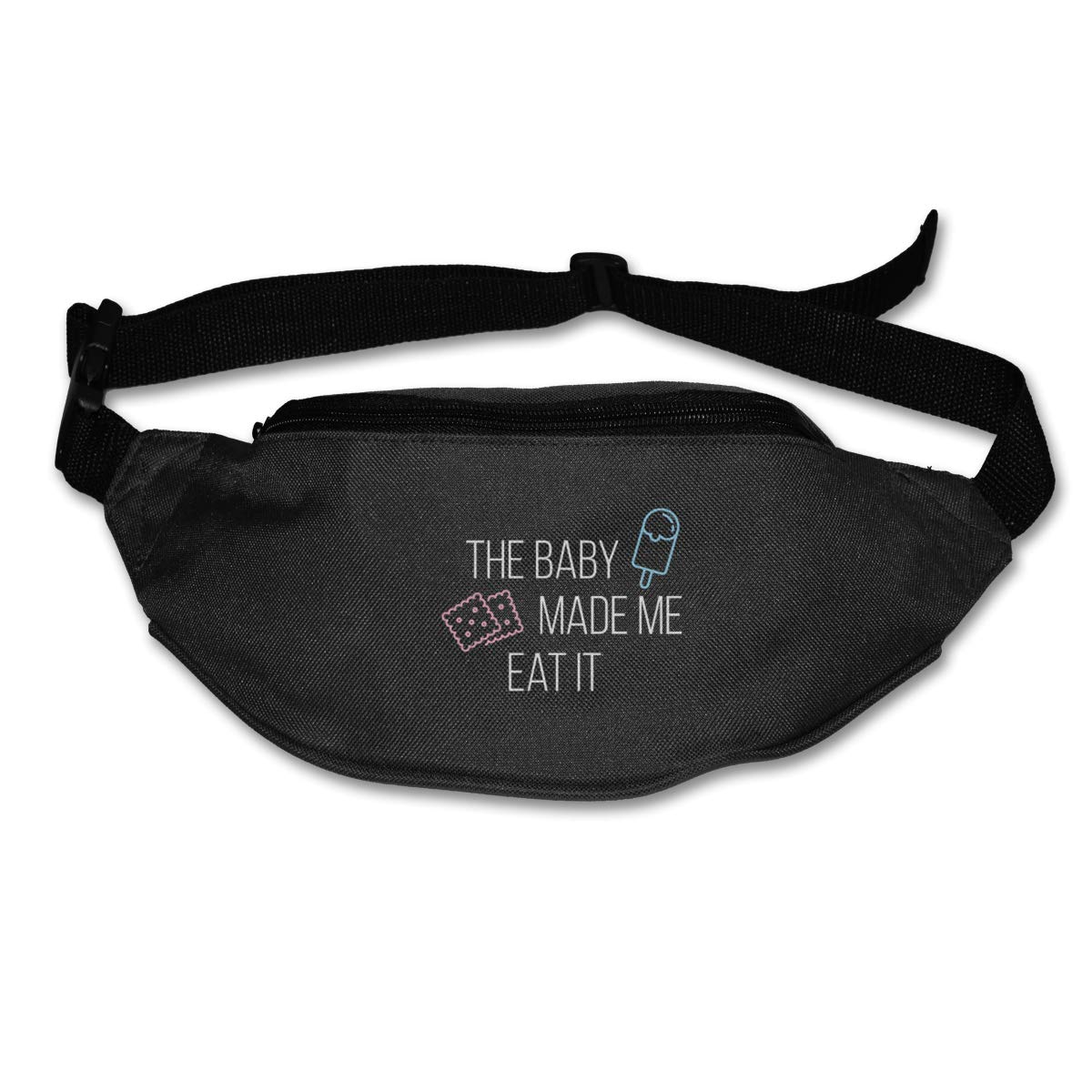 The Baby Made Me Eat It Sport Waist Packs Fanny Pack Adjustable For Run