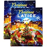 Christmas Latice Strategy Card Game 2-Pack