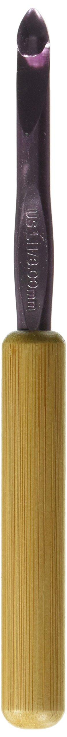 Susan Bates - Aguja de Crochet con mango de bambú de (48QW)