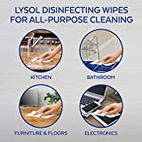 Lysol Disinfecting Wipes, 2 Lemon Plus 1 Mango, 240 Count, cleaning wipes, antibacterial wipes, sanitizing wipes, cleaning supplies