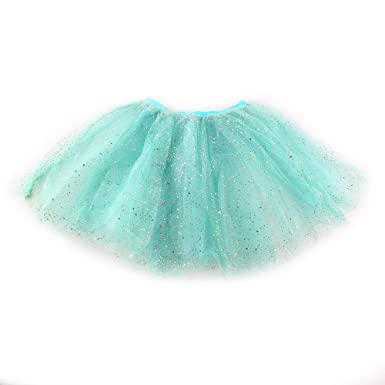 ESHOO Multicolor bebé niñas Princesa Tutu Falda Ballet Danza ...