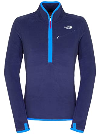 The North Face, Maglione Donna in Pile con Mezza Cerniera