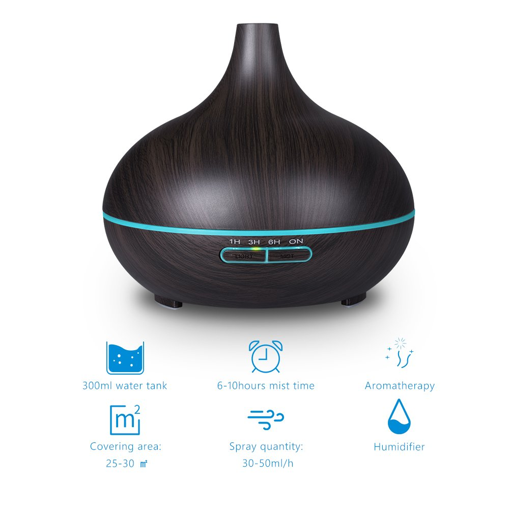 VicTsing 300ml Essential Oil Diffuser
