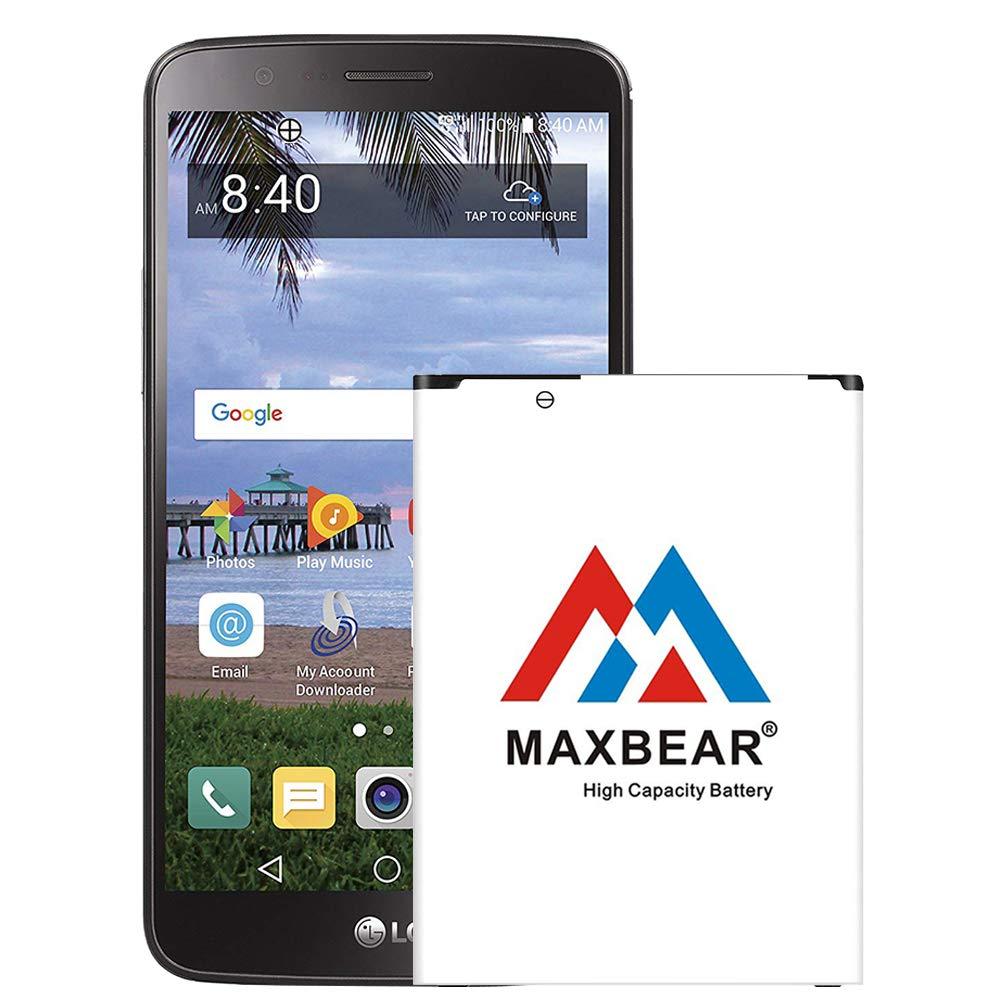 Bateria Celular LG Stylo 3 MAXBEAR 3300mAh Li ion para LG Stylo 3 & LG Stylo 3 Plus| LG Stylo 3 Spare 2
