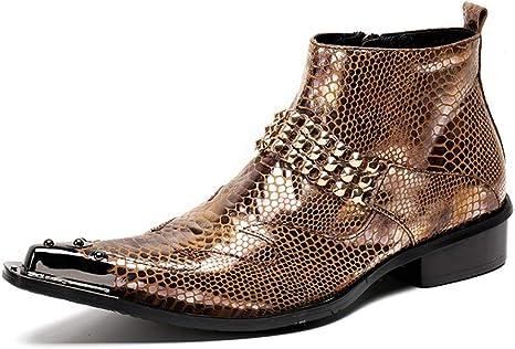 YOWAX Mens Western Cowboy Boots, Men's