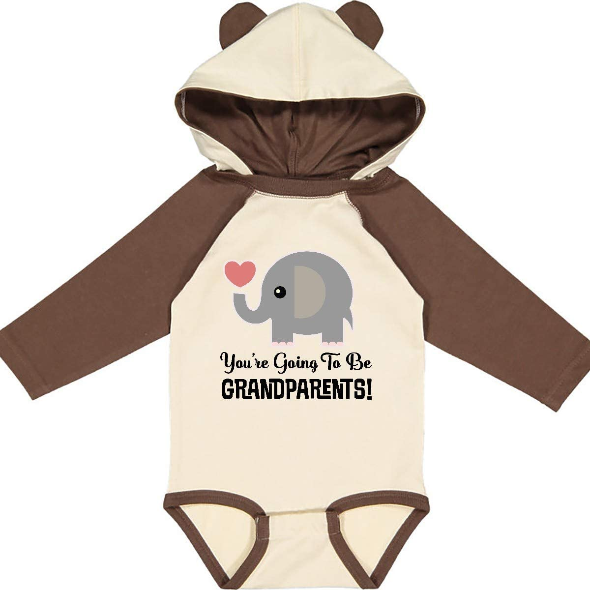inktastic Going to Be Grandparents Announcement Long Sleeve Creeper