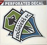 Seattle Sounders FC 12'' Perforated Window Film Auto Decal MLS Soccer Football Club