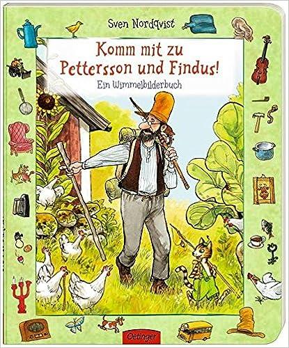 Komm mit zu Pettersson und Findus : Ein Wimmelbilderbuch