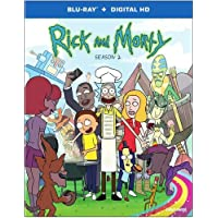 Rick & Morty: Season 2 [Blu-ray]