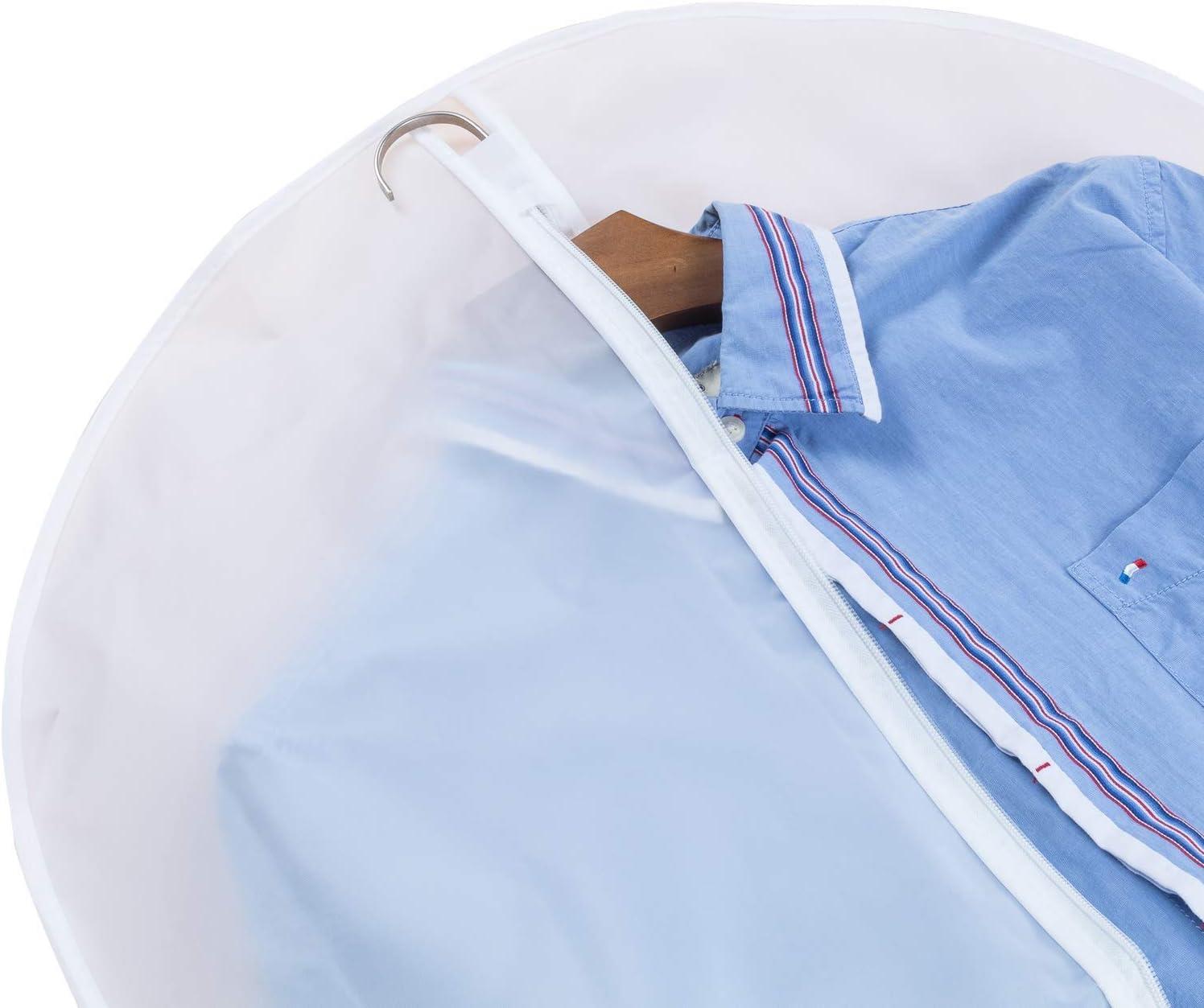 Confezione da 3 24x 31 Avril Tian Borsa Porta Abiti a Prova di Falena per Cappotti Invernali lunghi Abito da Sposa Abito da Ballo Deposito Armadio da Viaggio Copertura Antipolvere